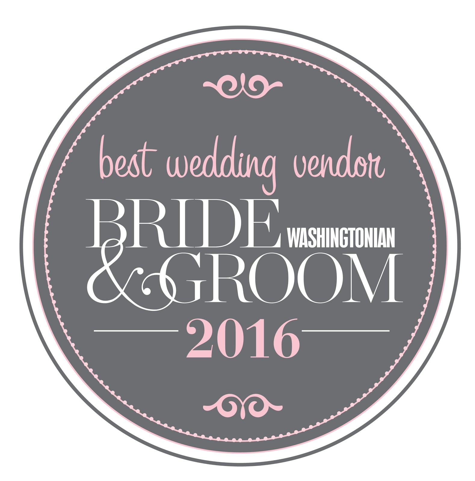Bride & Groom Washingtonian 2016
