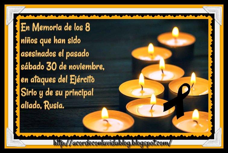 * En Vuestra Memoria Inocentes*