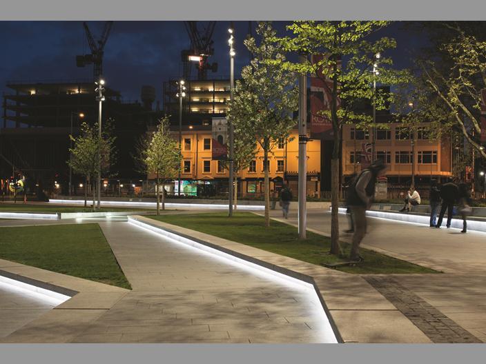 Arquitetura de ilumina o linhas de luz for Iluminacion de piso