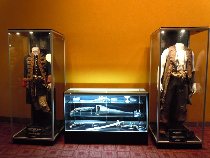 Original Pirates of the Caribbean 4 movie costumes
