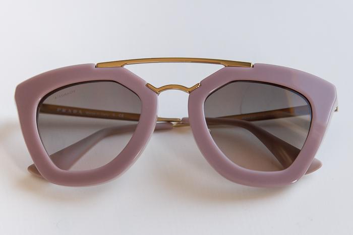 Gafas de Sol PRADA 09QS  Opal Pink Gradient Grey vía SOLEXTREM