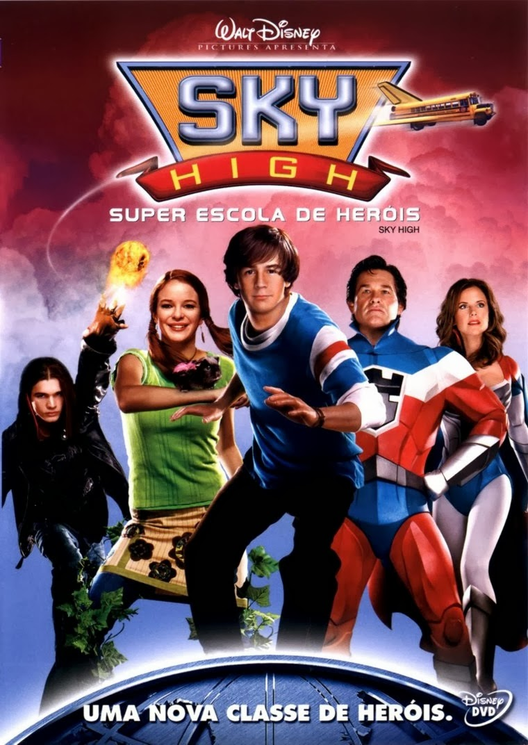 Sky High: Super Escola de Heróis – Dublado (2005)
