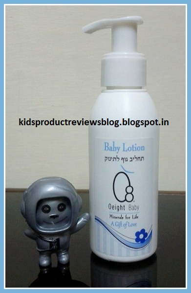 O8 Natural Baby Lotion Review