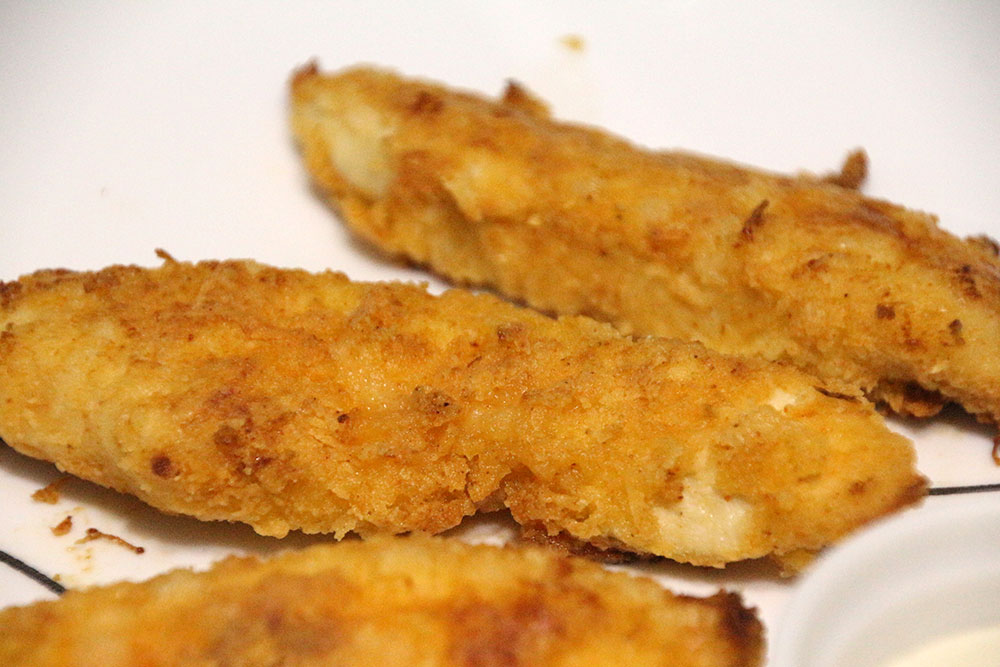 Crispy Baked Chicken Strips - Rainstorms and Love Notes