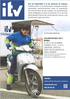 ITV MOTOCICLETAS Y CICLOMOTORES