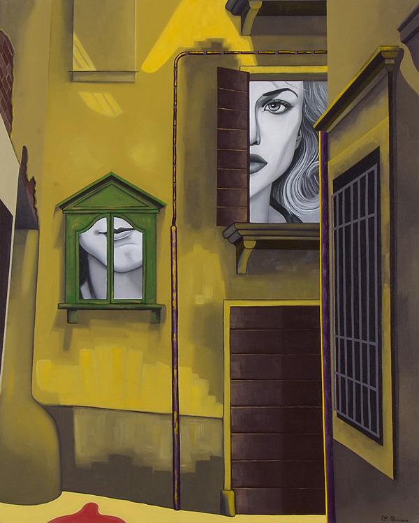 Paintings by Chiara Smirne