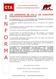 LOS CANDIDATOS DE CTA A LAS ELECCIONES SINDICALES SE COMPROMETEN