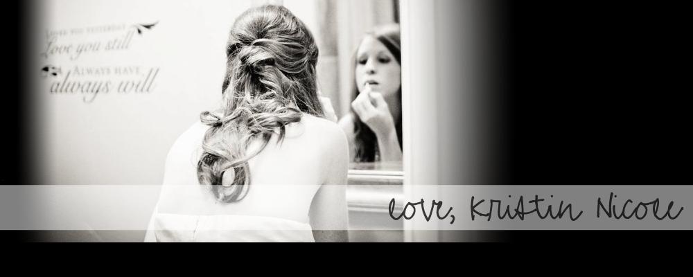 love, Kristin Nicole