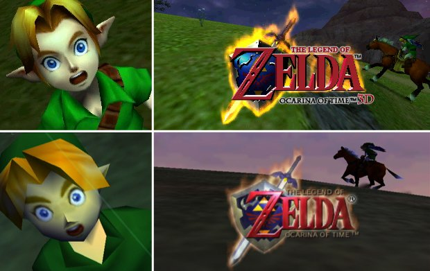 The Legend of Zelda  Ocarina of TimeZelda Ocarina Of Time 3ds Gameplay