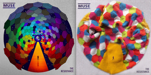 covers recreated with socks
