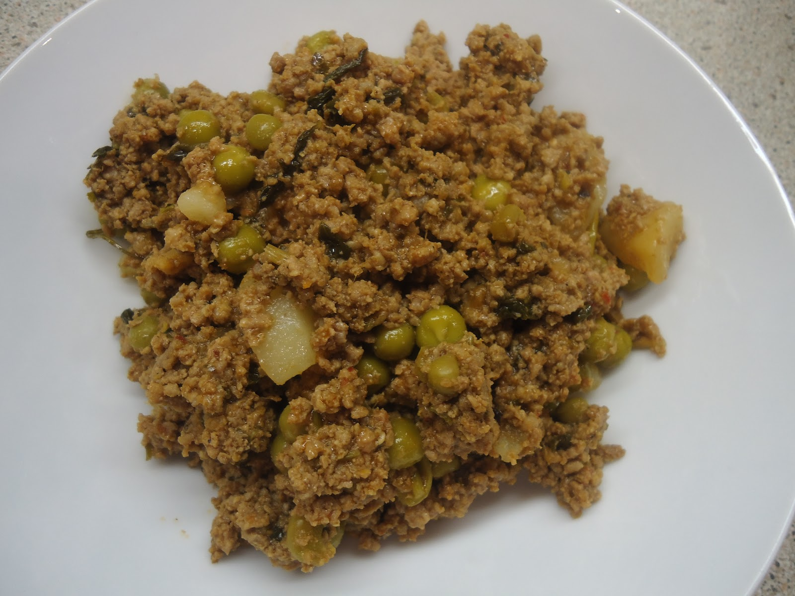 Keema - Lamb Mince Curry