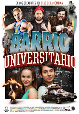 Barrio Universitario (2013) Latino DVDRip