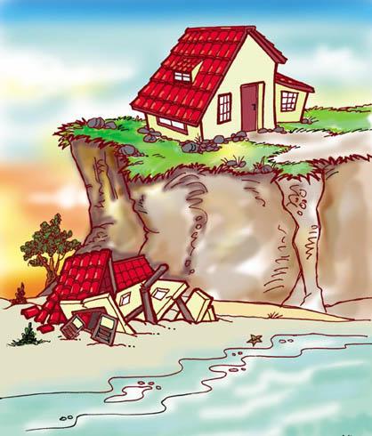 Me aburre la religi n los dos cimientos for Creador de casas