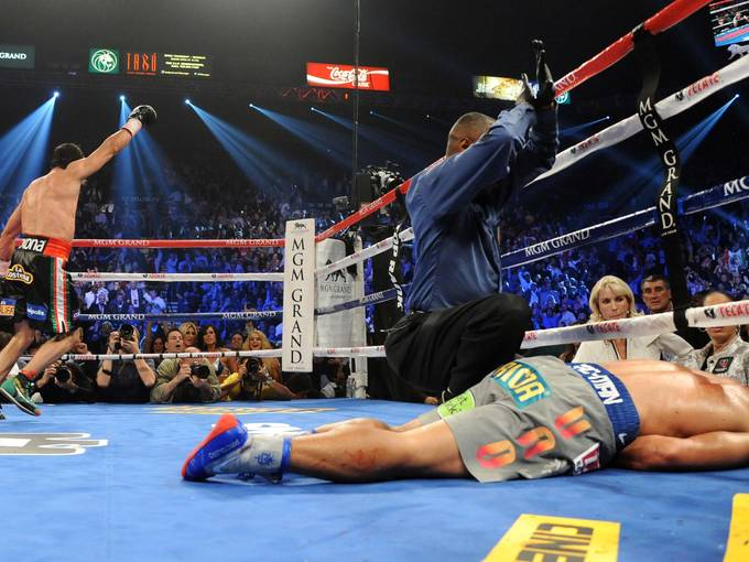 Marquez Beat Manny Pacquiao