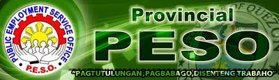 DOLE Provincial Public Employment Service Offices (PESO) Banner by www.maxginez3.com