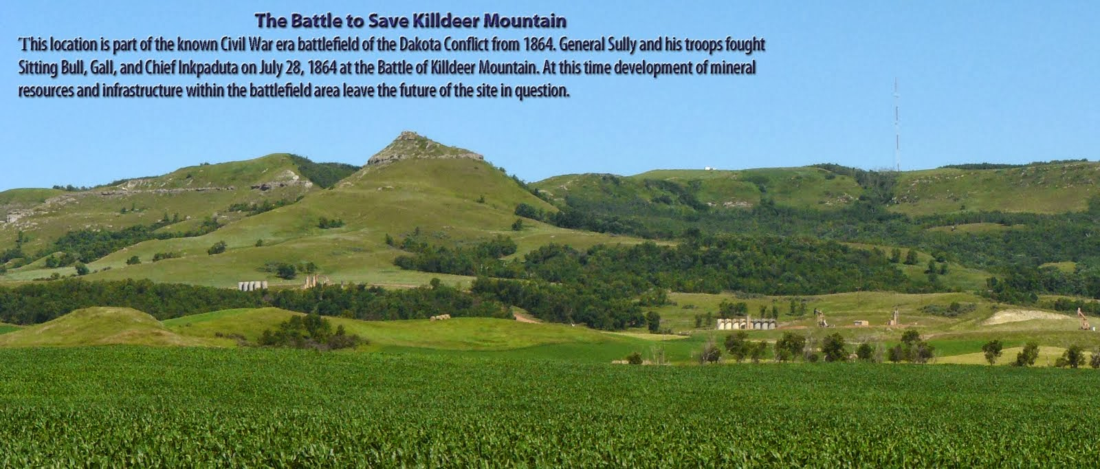 The Battle to Save Killdeer Mountain