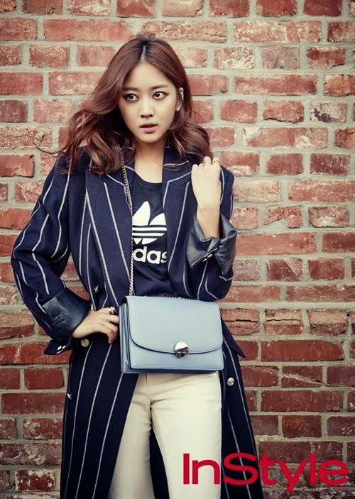 Jo Bo Ah - InStyle November 2014
