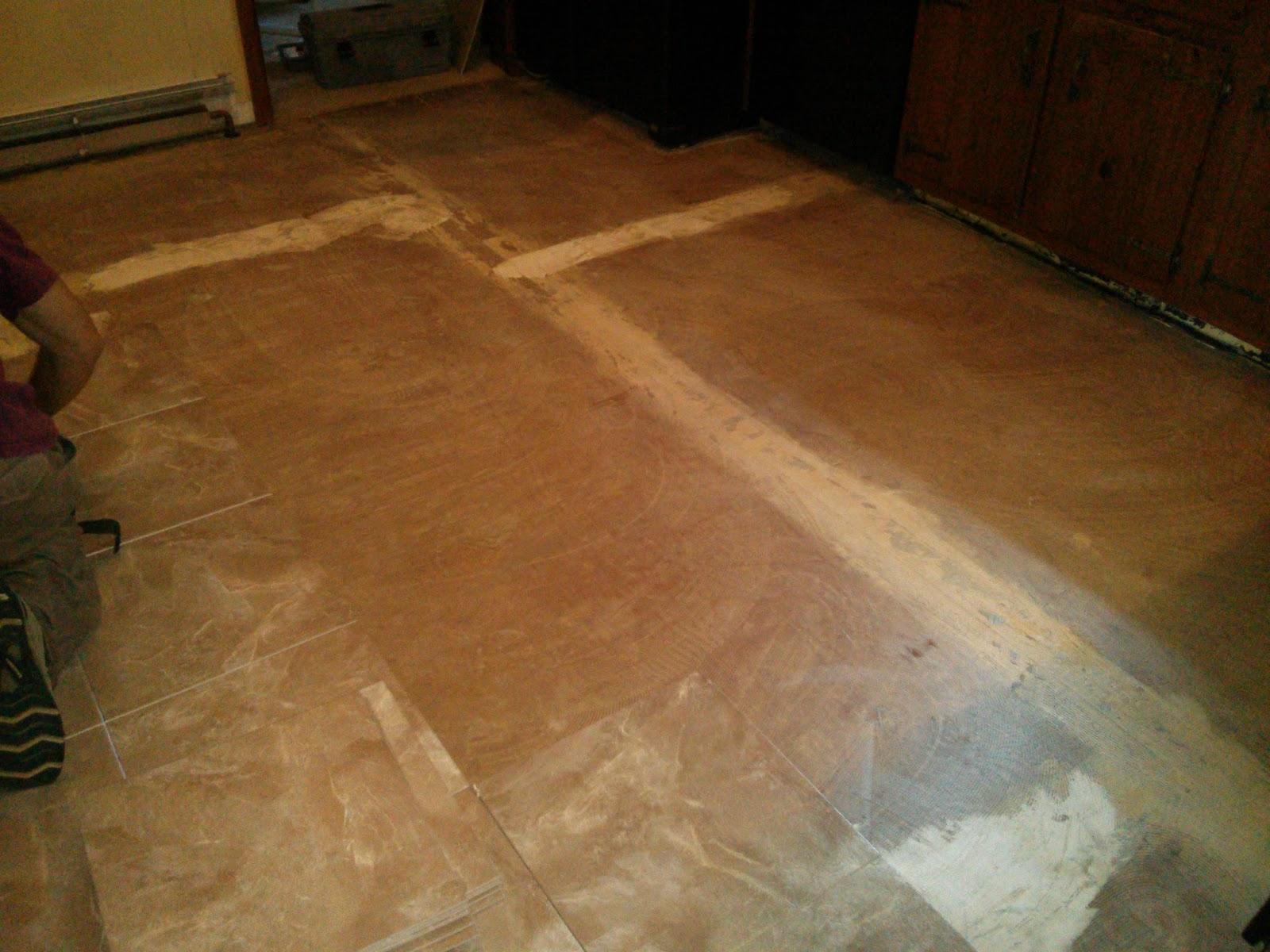 Floor Installation Photos Congoleum Duraceramic Install In