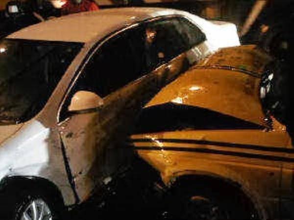 Bruno Mars Car Accident