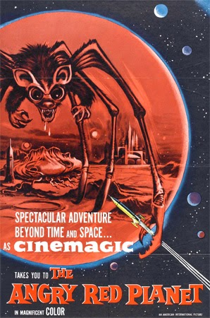 Poster - The Angry Red Planet (1959)
