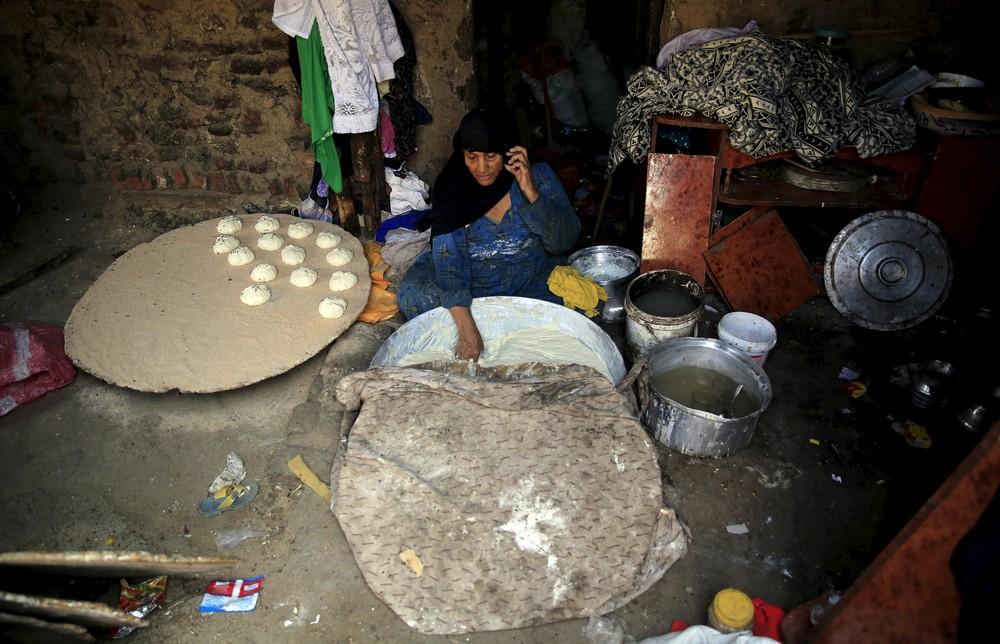 Повседневная жизнь в трущобах Египта