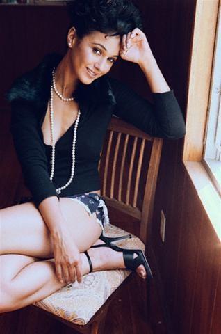 Emmanuelle Chriqui with underwear