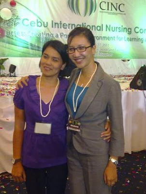 Maela Babate of Notre Dame of Dadiangas University and Noraini binti Enrico of Lincoln College