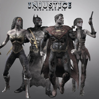 Injustice Gods Among Us Blackest Nights