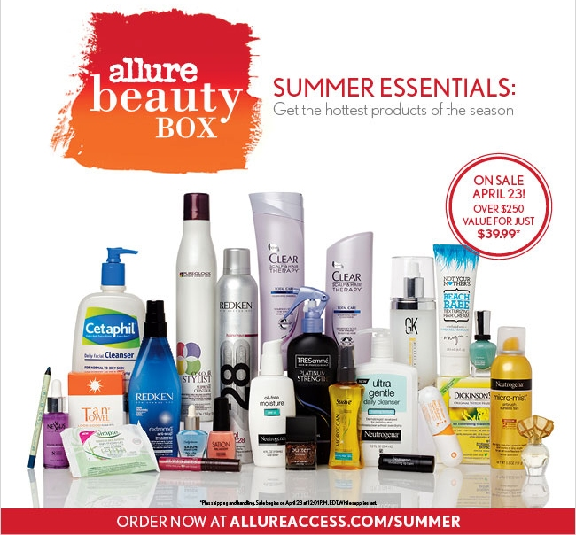 Allure Magazine Beauty Box