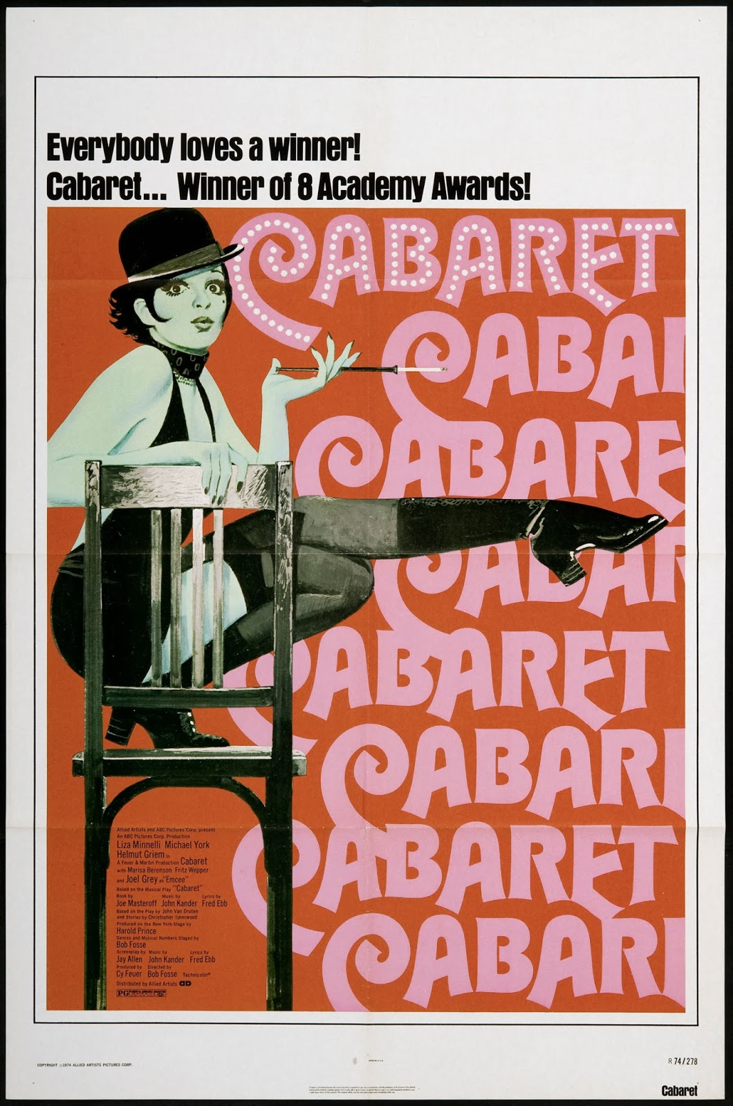 CABARET (Dir. Bob Fosse, 1972) | Discreet Charms & Obscure ...