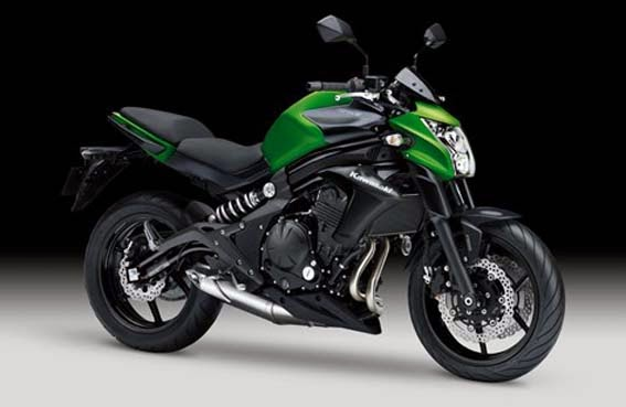 HONDAYES: Specification Kawasaki ER-6n 2014