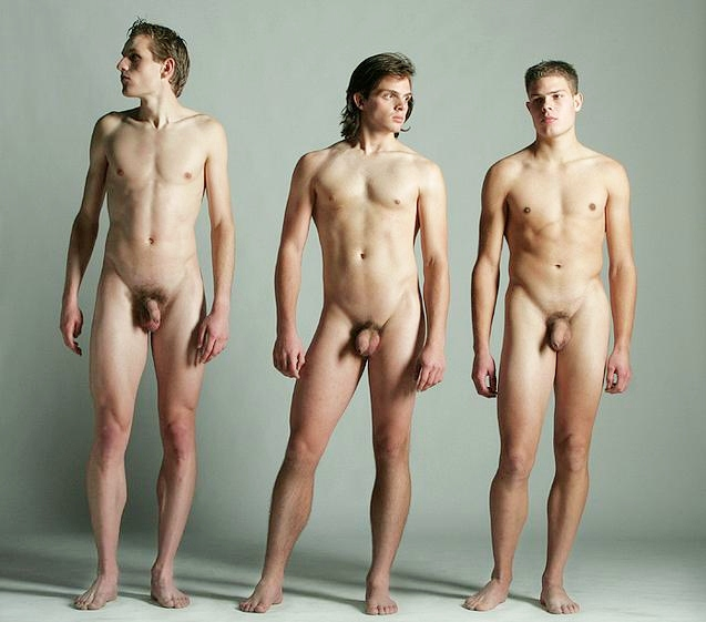Frontal men naked have kept