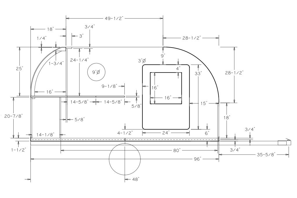 Model  PLANS8X18FlatbedTandemUtilityTrailerPlansInstructionsBOMDIY