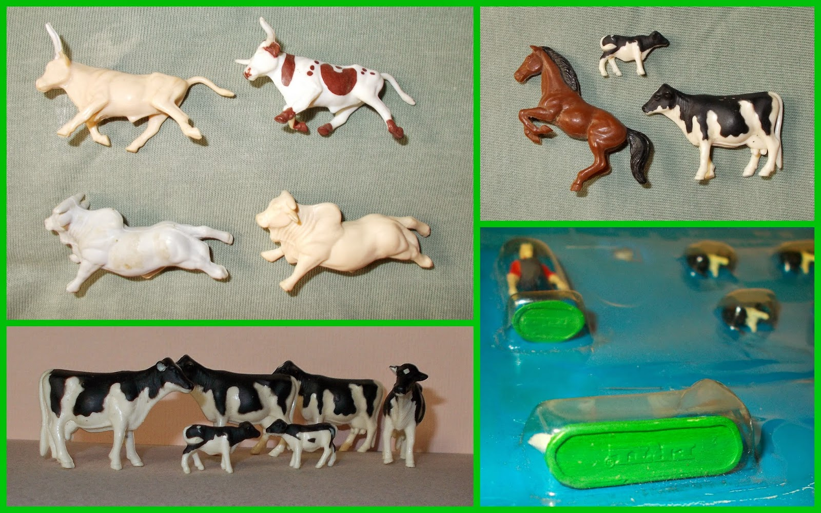 All photos of the renault rodeo 6 on this page are represented for - There Were Also Lots Of More Standard Farm Sets And Here Are A Few Animals From Them Along With Studies Of The Rodeo Bulls And Horse