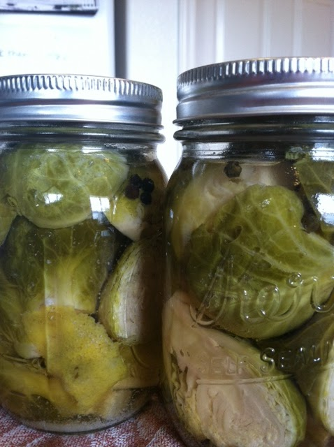 Pickling Vegetables - Carrots, Brussel Sprouts, and Asparagus ...