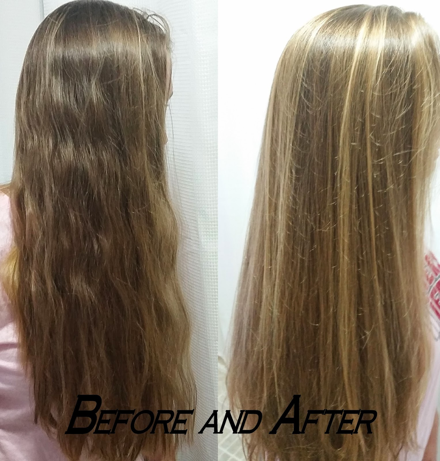 Natural Hair Lightener Before And After