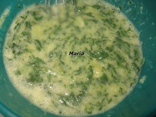 Tortilla de patatas y acelgas