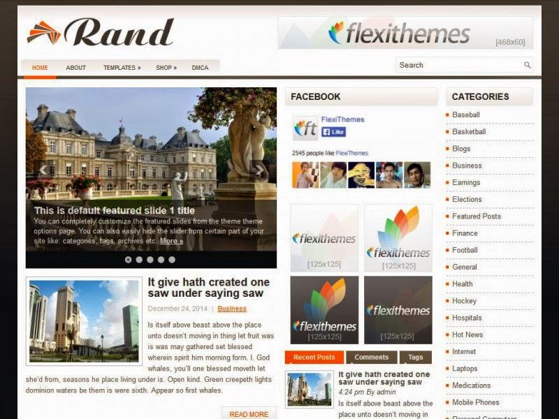 Rand - Free Wordpress Theme