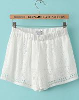 www.shein.com/White-Elastic-Waist-Hollow-Chiffon-Shorts-p-173062-cat-1740.html?aff_id=2525