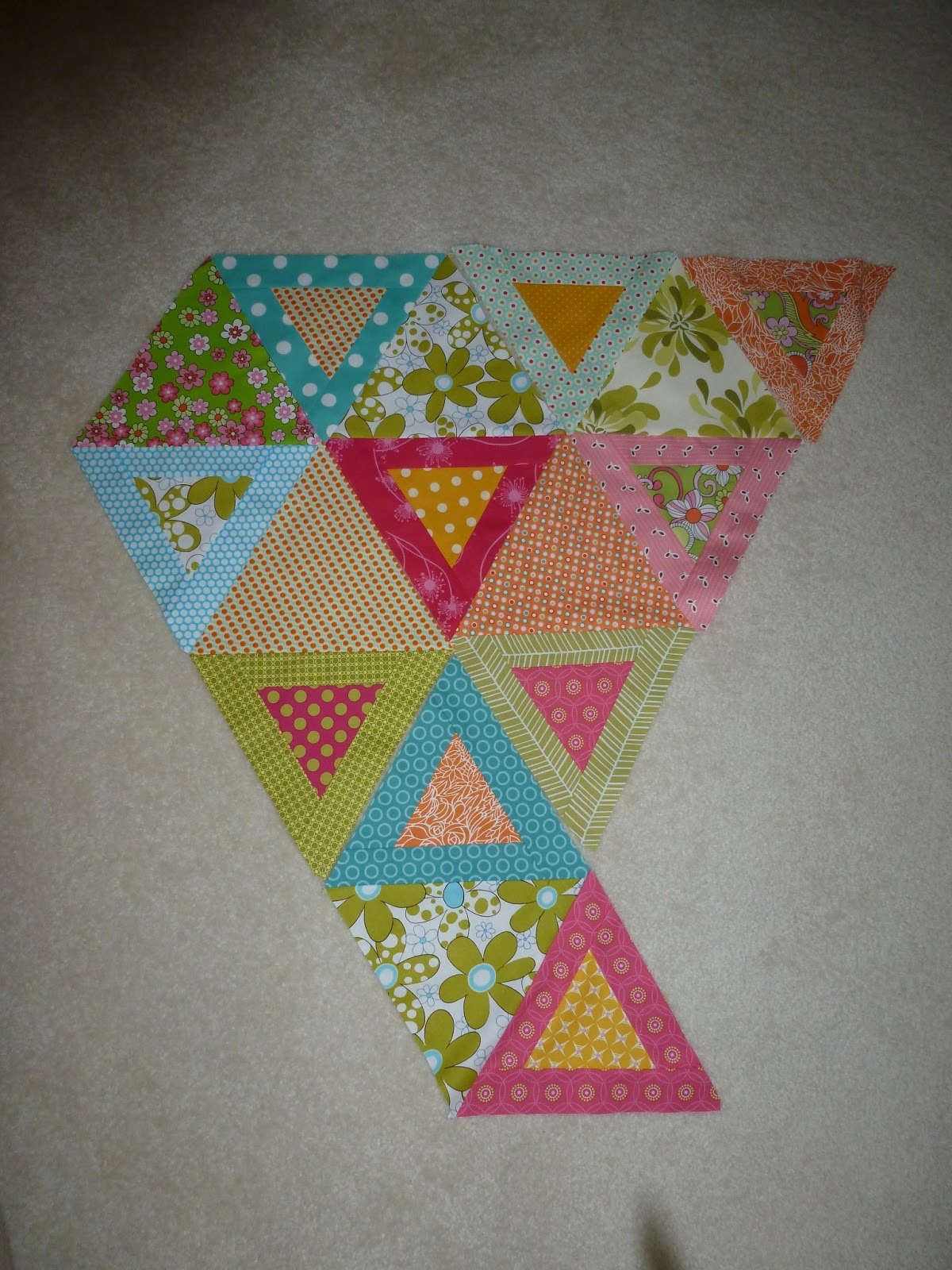 Rose Room Quilts Hex N More Triangles And Hexagons