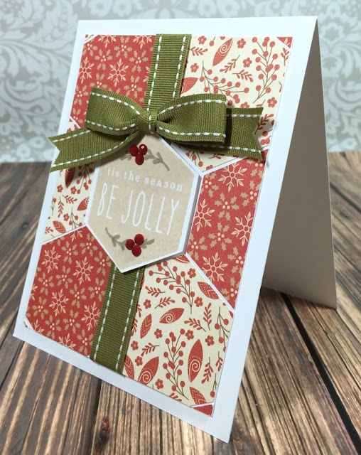 Cricut Artistry Be Jolly Card