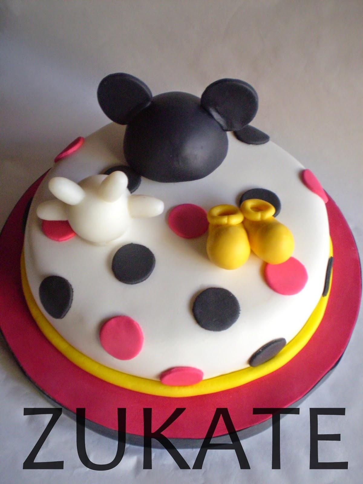 Torta de mickey mouse para santino