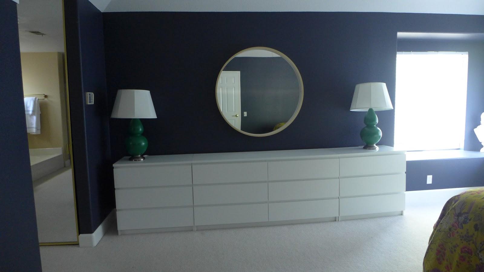 Lisa Moves Master Bedroom In Progress Wall Of Dressers