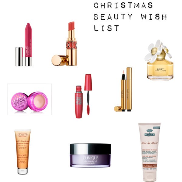 Christmas beauty wish list