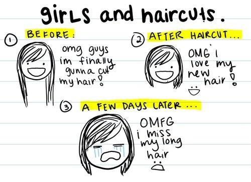 GIRLS HAIRCUTS
