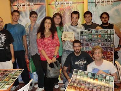 todos los participante del torneo de ÉPICA:Edades Oscuras en el Festival de Juegos de Córdoba del 2011