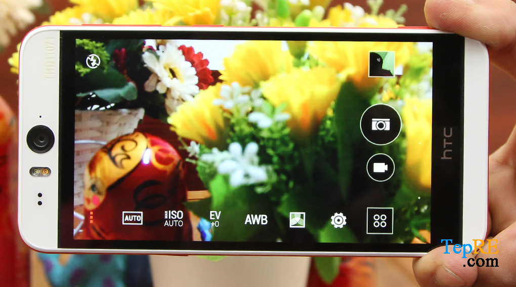 Camera HTC Desire Eye Review