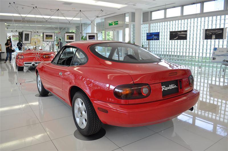 Mazda MX-5 NA coupe, prototyp, koncept, ciekawostki samochodowe
