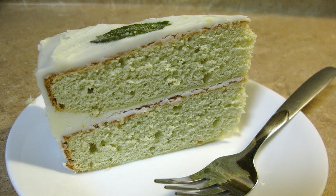 Emjay S Imagination Mint Cake With Lemon Icing