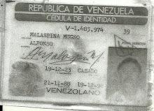 CÉDULA DE ALFONSO MALASPINA
